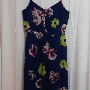 J Crew Floral Maxi Dress
